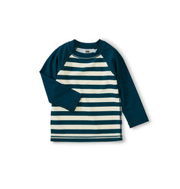 Tea Collection Colorblk LS Baby Rash Guard