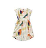 Tea Collection Hi-Lo Tie Waist Dress