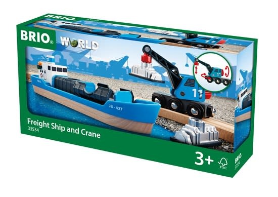 Freight Ship & Crane