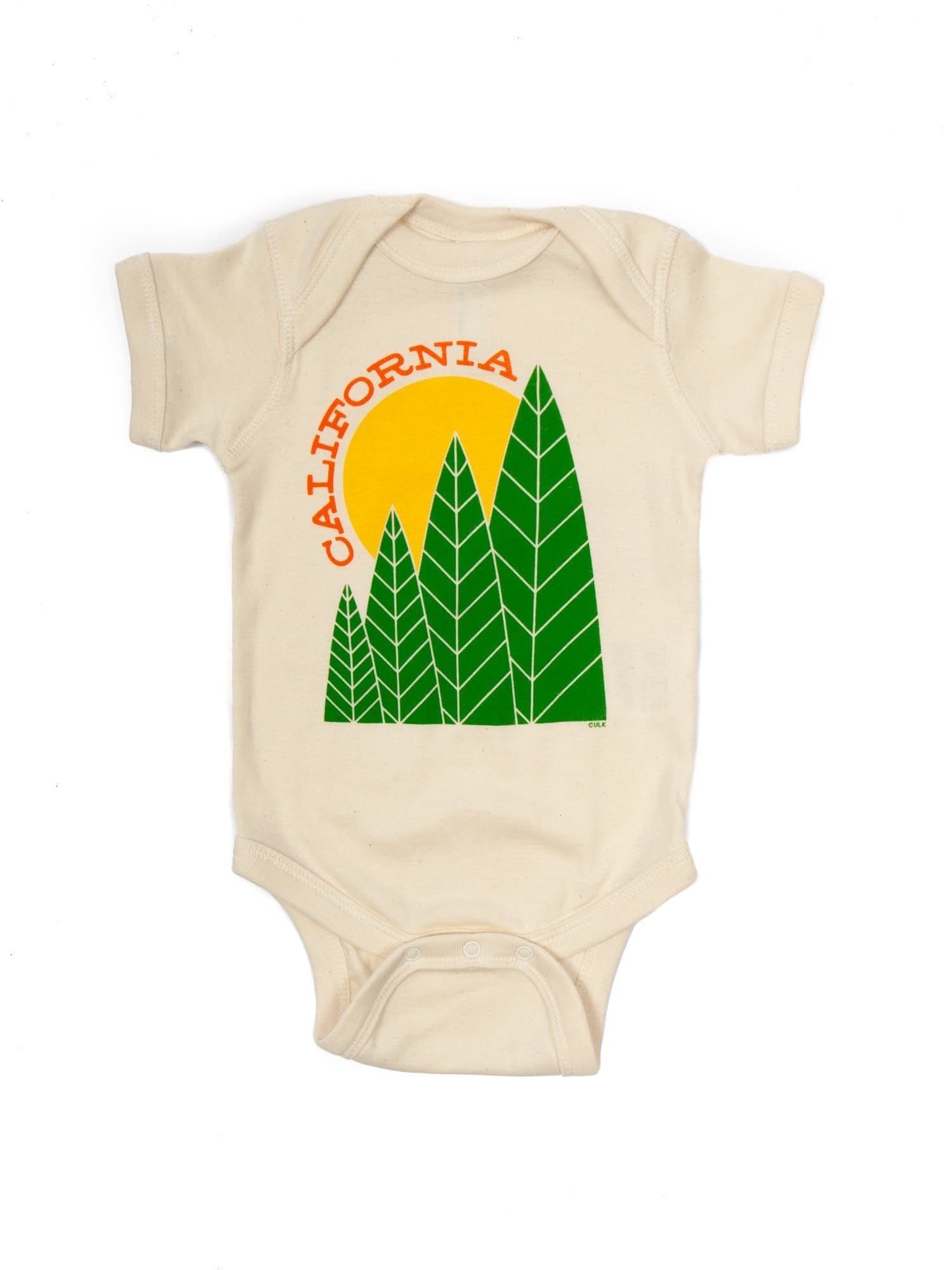 Culk California Tree Sun Onesie