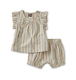 Tea Collection Sparkle Stripe Wrap Set