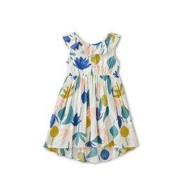 Tea Collection Ruffle Hi-Lo Dress