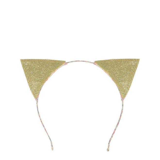 Meri Meri Floral Cat Ear Headband
