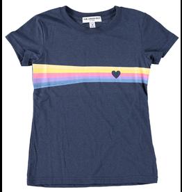 Sub Urban Riot Heart Stripe Tee