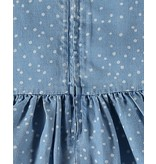 Splendid Chambray Polka Dot Dress