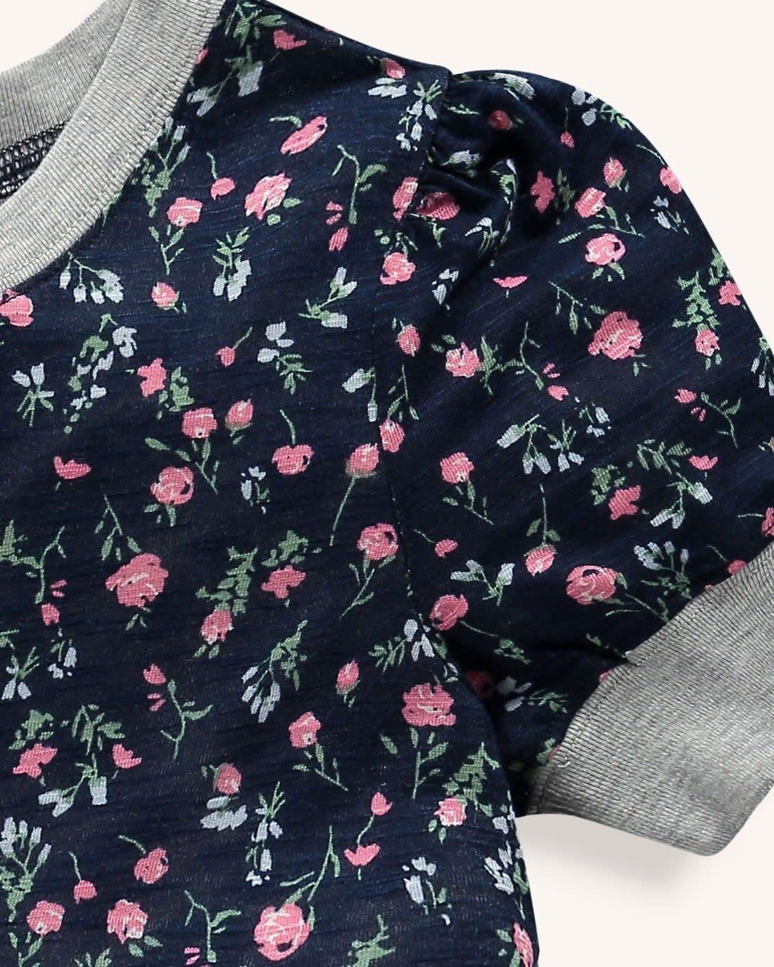 Splendid Phantom Floral Dress
