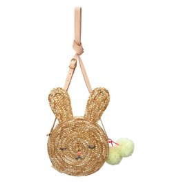 Meri Meri Bunny Straw Purse