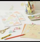 Meri Meri Glitter Bunny Sticker Sheets