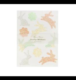 Meri Meri Glitter Bunny Stickers