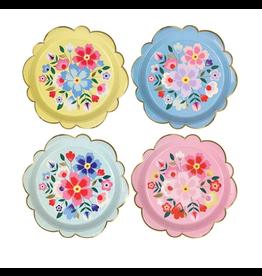 Meri Meri Bright Floral Plates