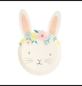 Meri Meri Floral Bunny Plates