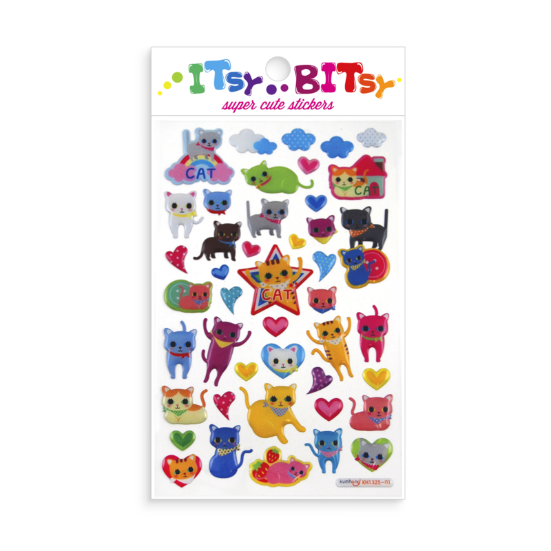 Ooly Itsy Bitsy Stickers - Cat Eyes