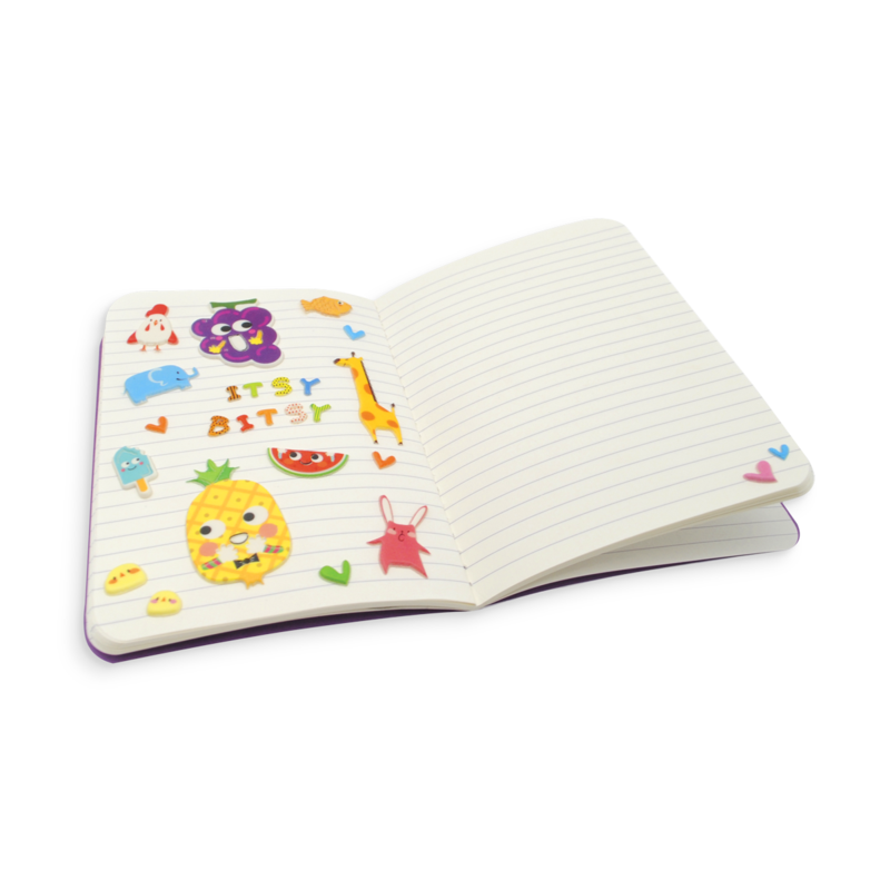 Ooly Itsy Bitsy Stickers - Happy Zoo