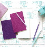 Ooly Oh My Glitter Notebooks:- Pink