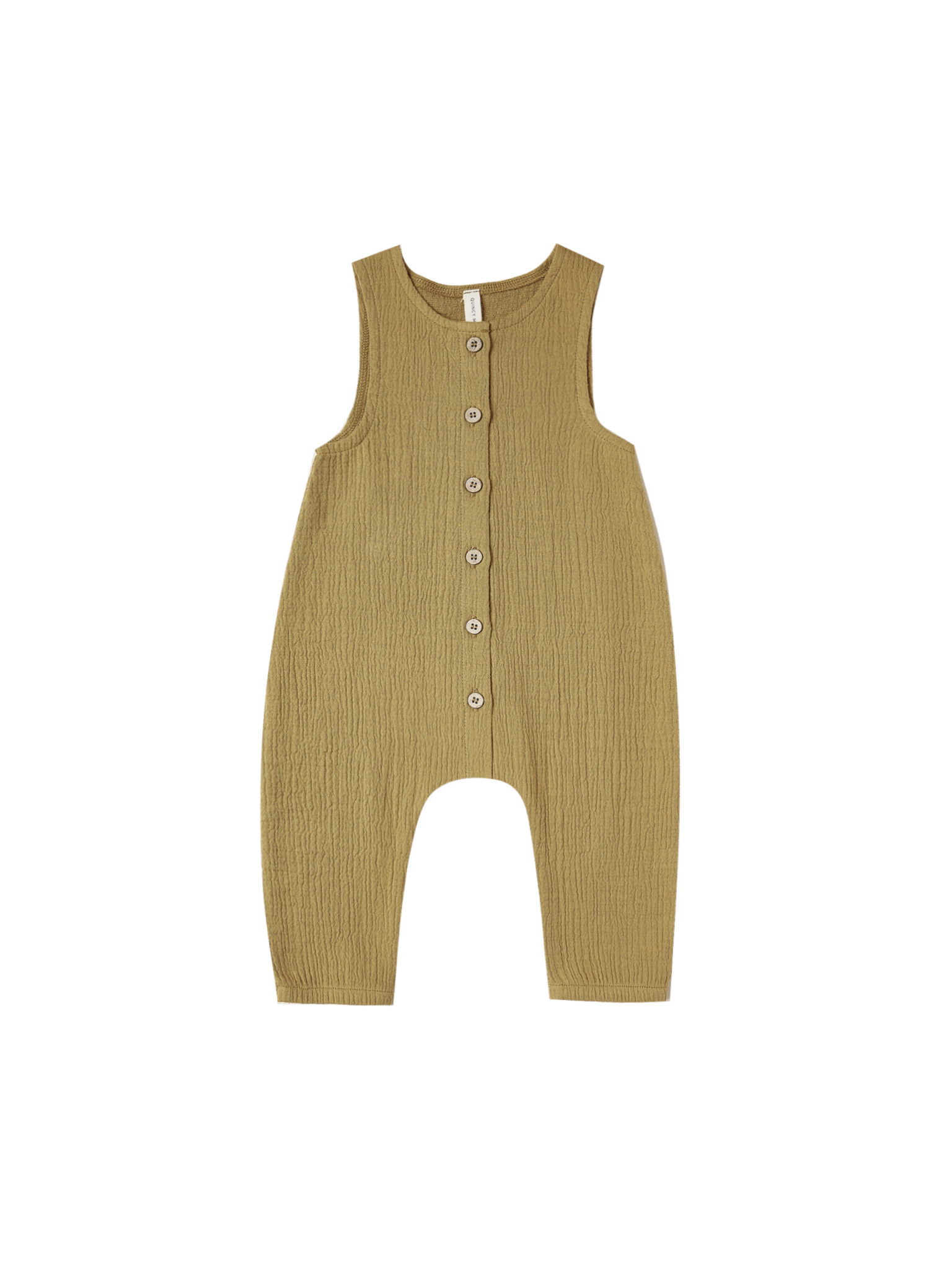 Quincy Mae Jumpsuit - Ocre