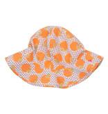 Pink Chicken Sun Hat - Oranges
