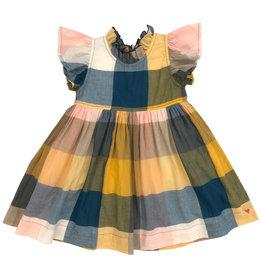 Pink Chicken Jennifer Dress - Multi Gingham