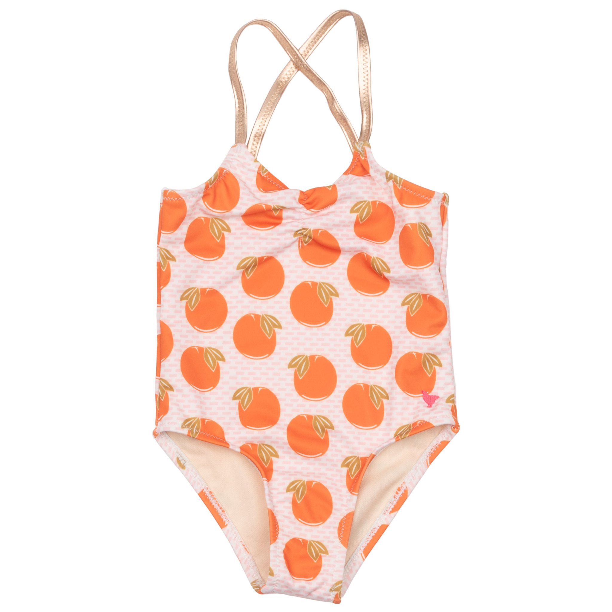 Pink Chicken Belle Swim Suit - Oranges