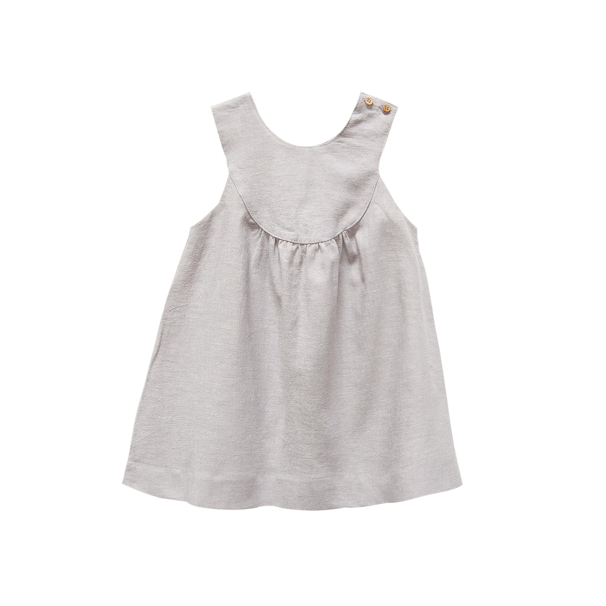 Go Gently Nation Poppy Dress - Gray