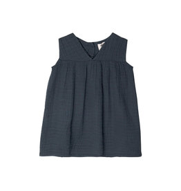 Go Gently Nation Gauze Frock - Indigo