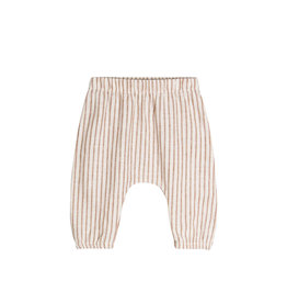 Go Gently Nation Baby Pant - Hazelnut Stripe