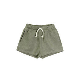 Go Gently Nation Woven Short - Thyme