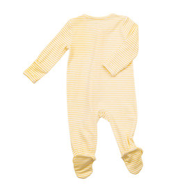 Angel Dear Yellow Stripe Footie