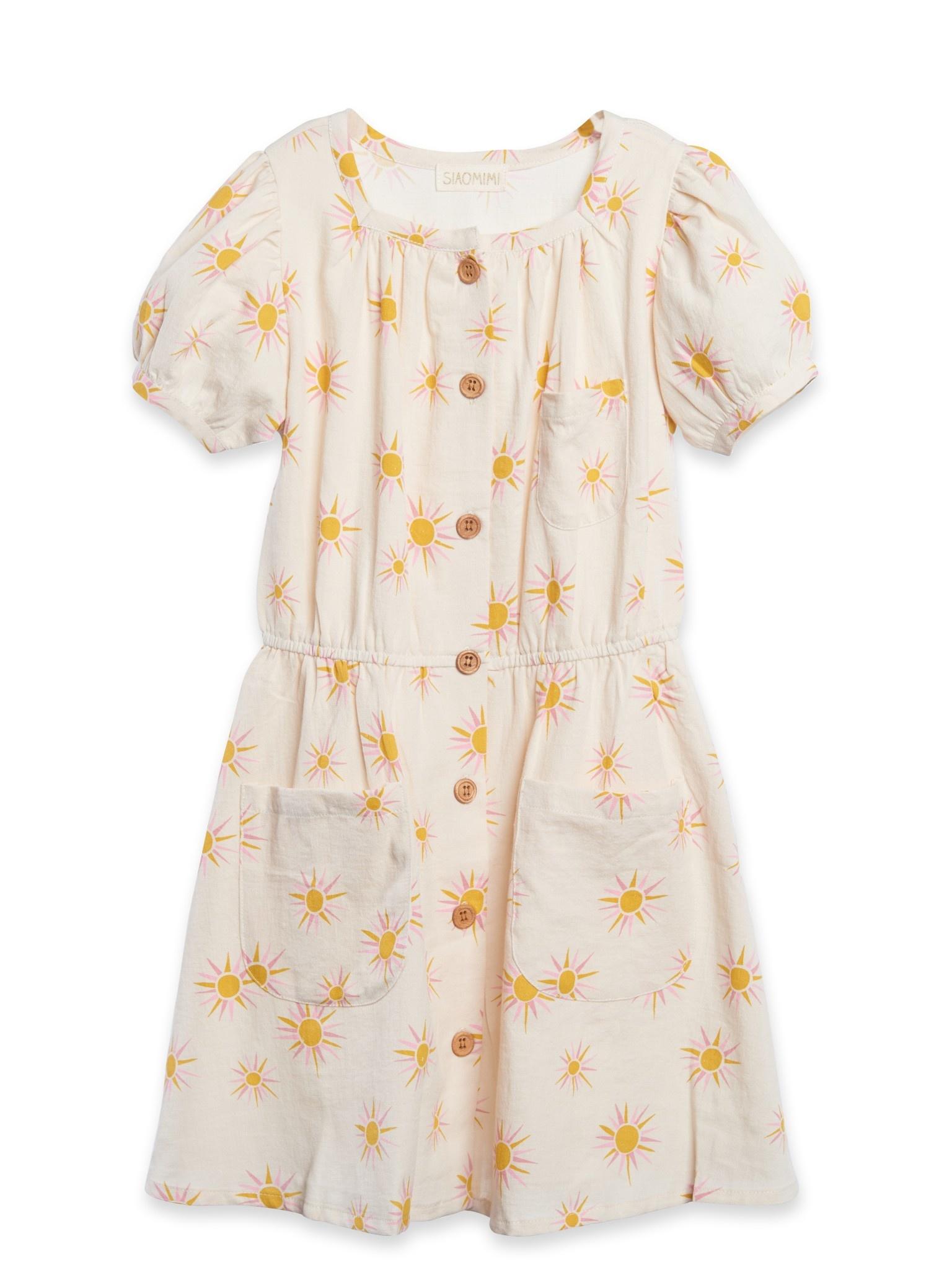 Siaomimi Lucca Dress - Cream Sun