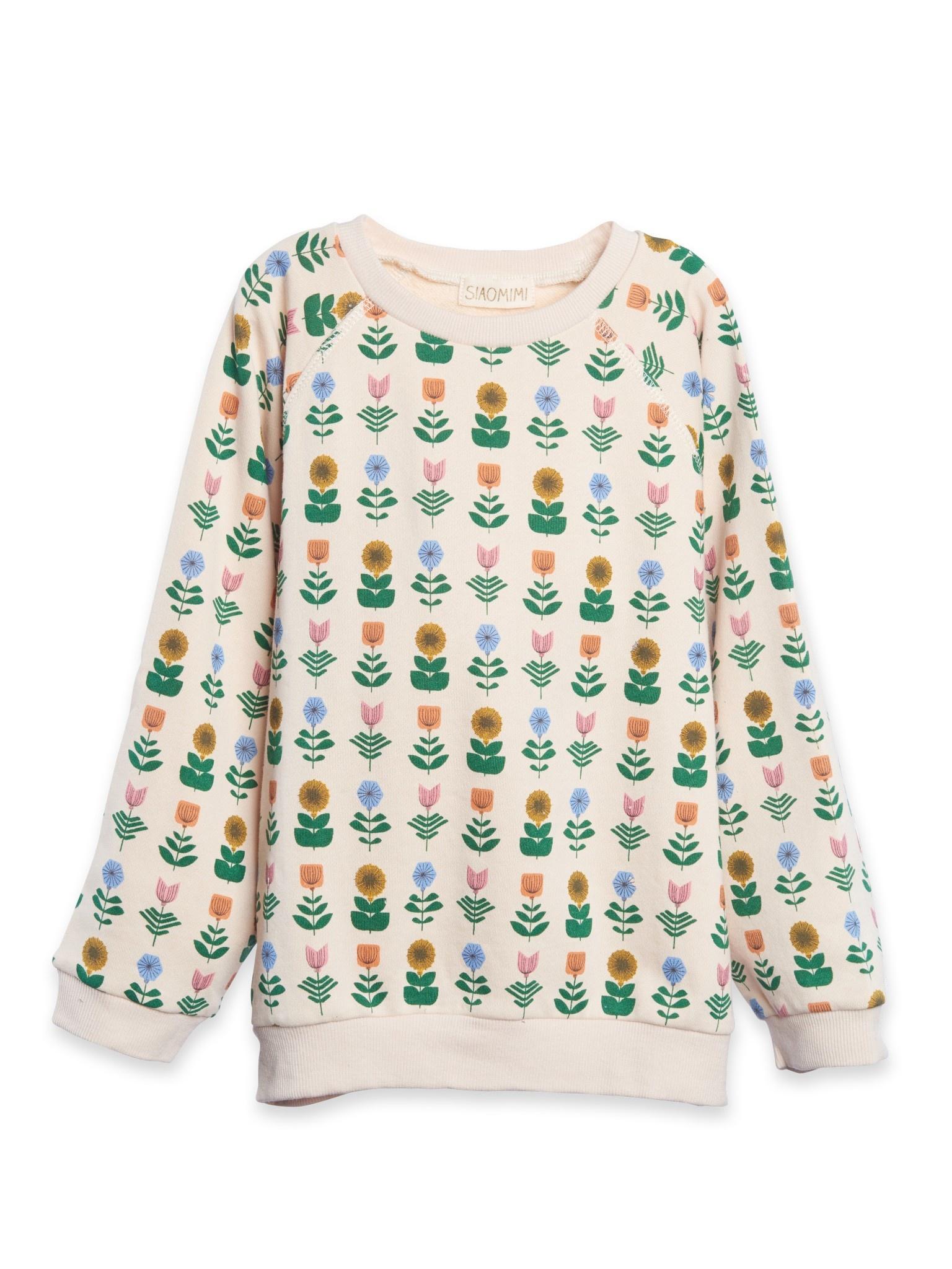 Siaomimi Floral Sweatshirt