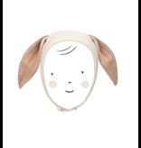 Meri Meri Bunny Baby Bonnet - Peach