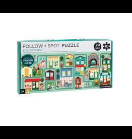 Wild & Wolf Around Town Follow & Spot Puzzle