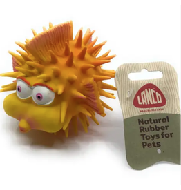 Lanco Toy Puffer Fish Dog Toy