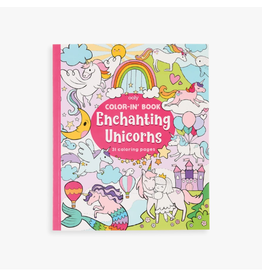 Ooly Coloring Book - Enchanting Unicorns