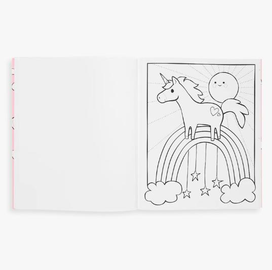 Ooly Coloring Book - Enchanting Unicorns
