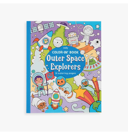 Ooly Coloring Book - Outer Space Explorers