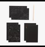 Ooly Mini Scratch & Scribble - Funtastic Friends