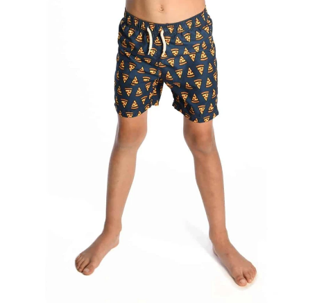 Appaman Pizza Party Swim Trunks