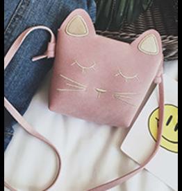 Fiddlesticks Cat Purse - Pink