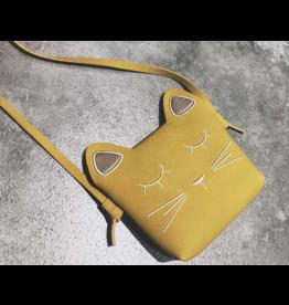 Fiddlesticks Cat Purse - Yellow