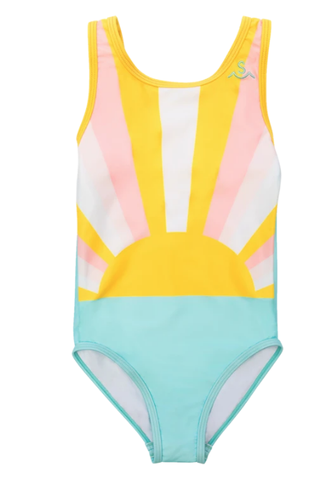 Tiny Whales Sun Child One Piece Swimsuit
