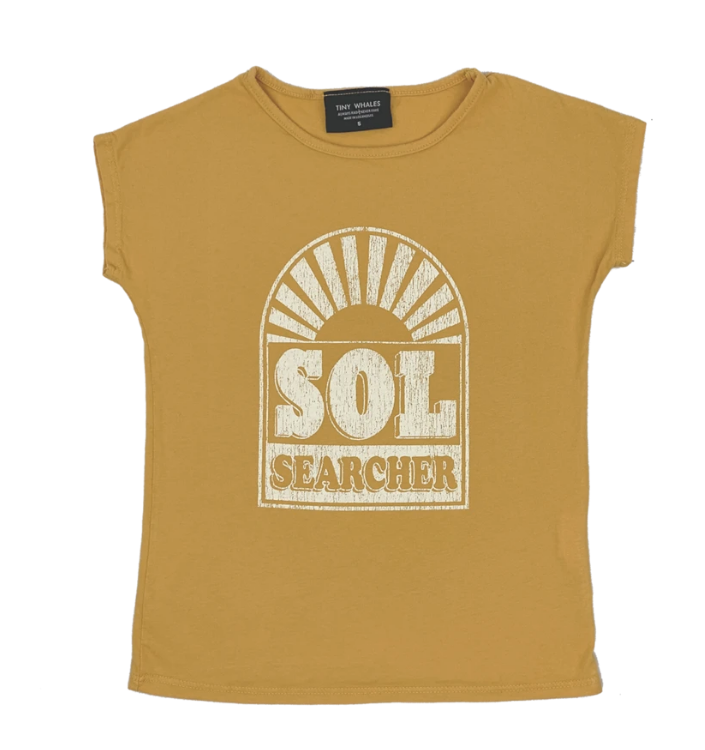 Tiny Whales Sol Searcher Tee - Kids