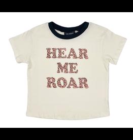 Tiny Whales Hear Me Roar Tee - Kids