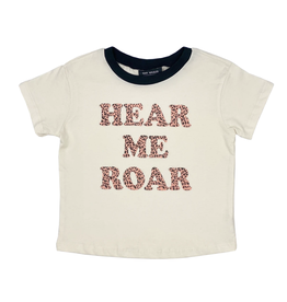 Tiny Whales Hear Me Roar Tee - Teen