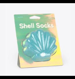 Doiy Shell Socks - Blue