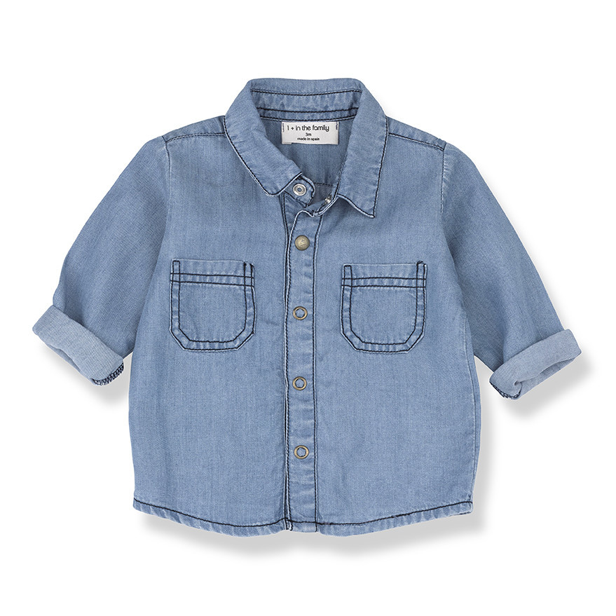One More In The Family Formentera Denim Shirt