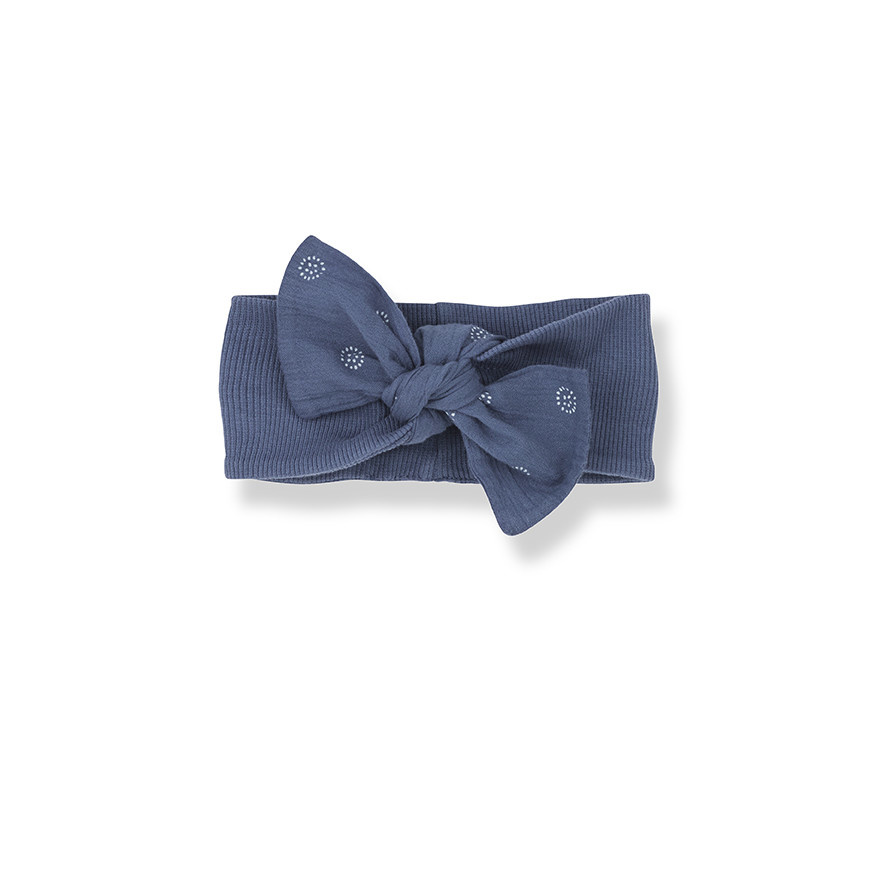 One More In The Family Gozo Blue Bandeau