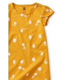 Tea Collection Petal Sleeve Dress