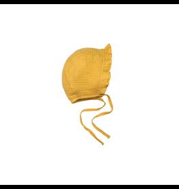 Wild & Wawa Ruffle Bonnet - Honey