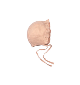 Wild & Wawa Ruffle Bonnet - Pink