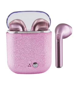 iScream Ear Buds - Pink Glitter